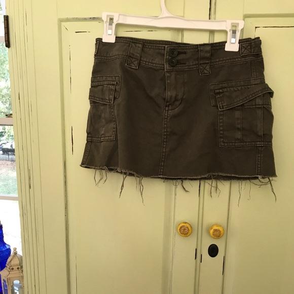0a8a78a83e BDG Skirts | Military Green Mini Skirt | Poshmark